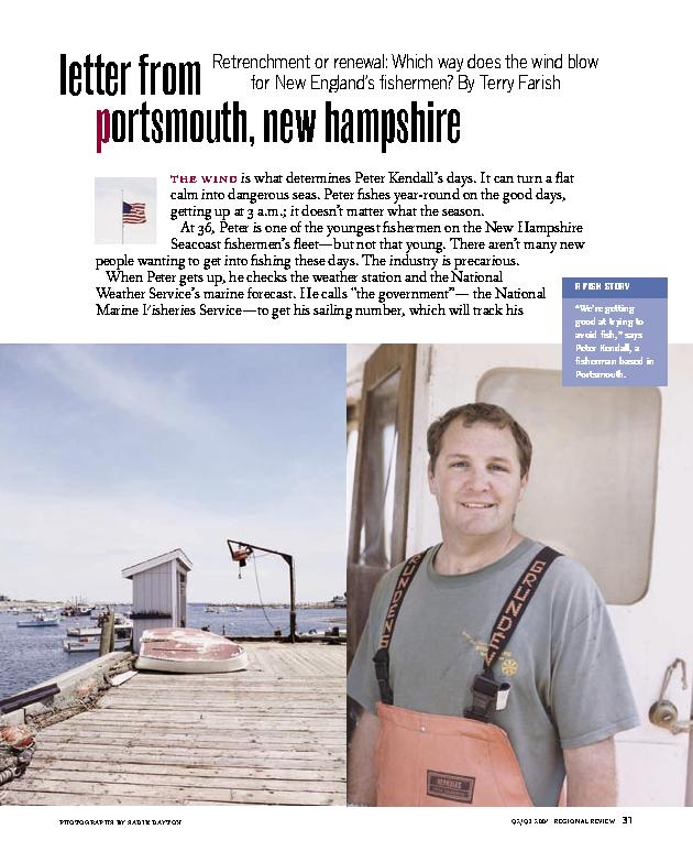 Letter from Portsmouth, New Hampshire